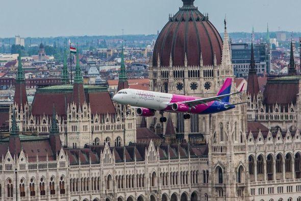 Airbus A 321 Budapešť