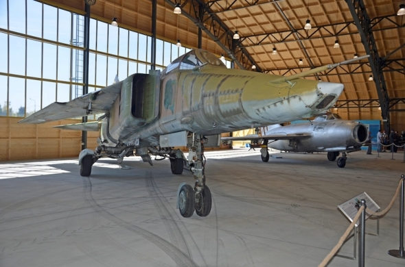 MiG 23 Stará Aerovka
