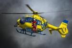 zásah vrtulník EC 135 DSA