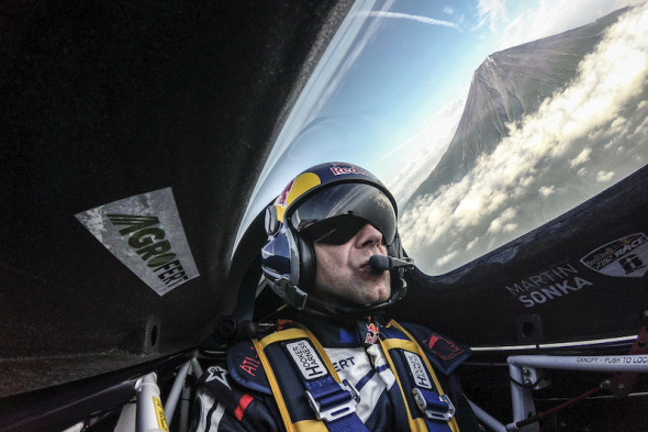 Martin Šonka Red Bull Air Race hora Fuji 2016