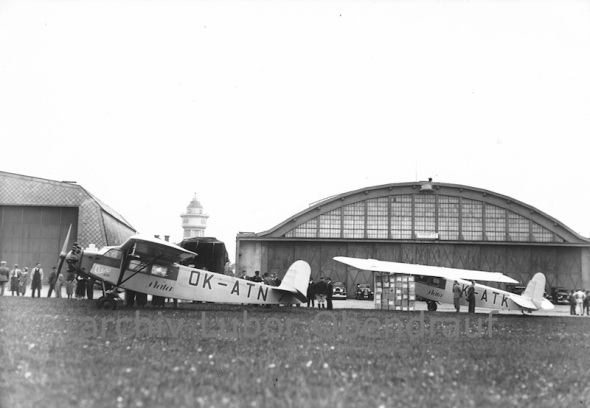 Aero 35 Baťa LKKB one