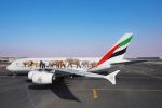 Airbus A380 Emirates ochrana zvířat