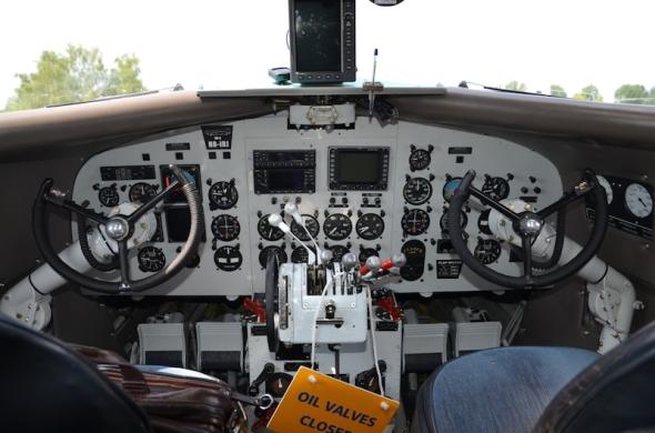 Douglas DC 3 kokpit