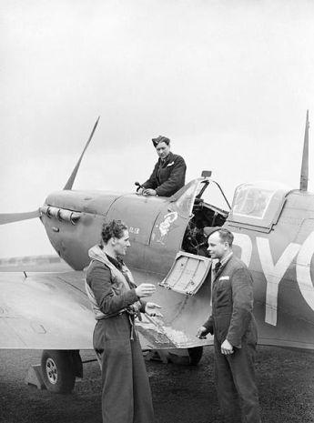 FLt Karel Vykoukal český pilot RAF