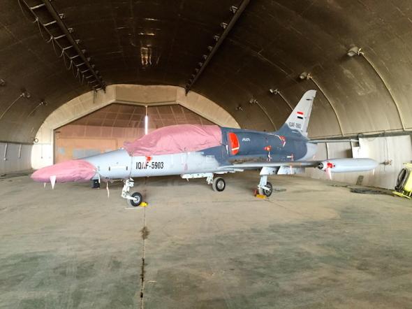 Irácké Aero L 159 v úlu