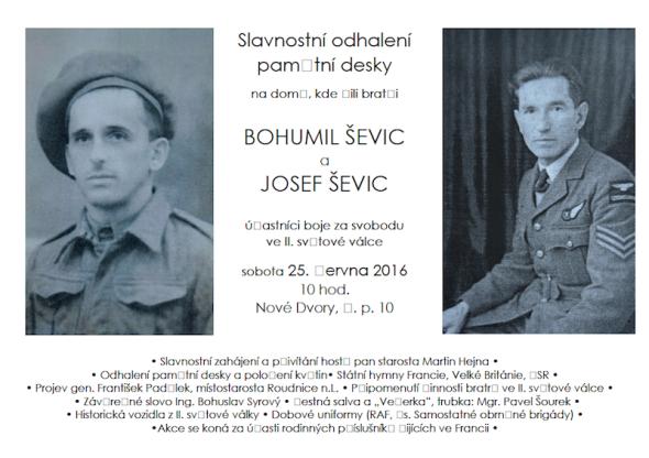 Josef Ševic 311 squadrona RAF