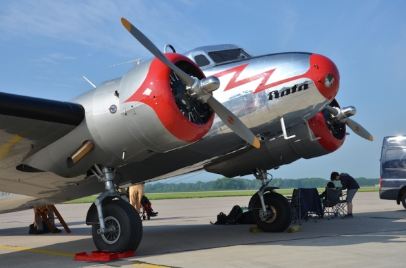 Lockheed Electra OK CTB