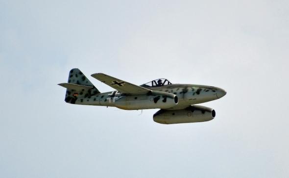 Messerschmitt Me 262 průlet