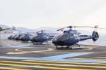 flotila vrtulníků H130 Monacair