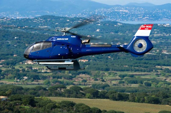 vrtulník Airbus Helicopter H130 Monacair