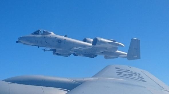 Americký bitevní letoun A 10 Thunderbolt