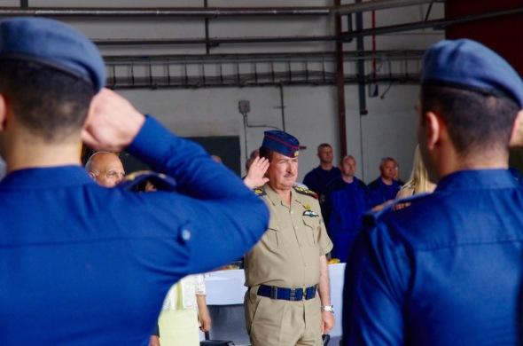 generál Hamid Atiah Kween Al-Malky velitel Armádního letectva Irácké republiky