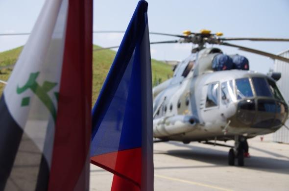 vrtulník Mi 17 CLV