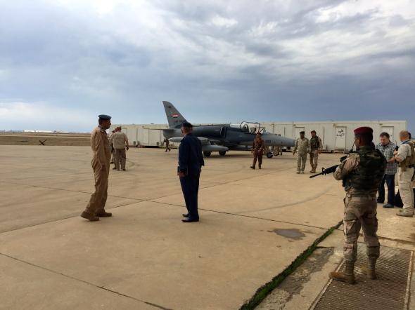 Aero L 159 Irácké letectvo 5903 základna Balád