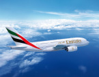 Emirates Airbus A380 v letu