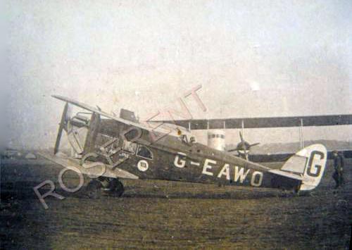 de Havilland DH 18A G-EAWO