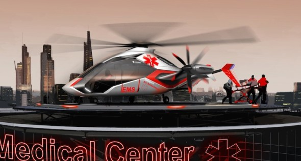 Airbus Helicopter gyrodyn CS2 medical