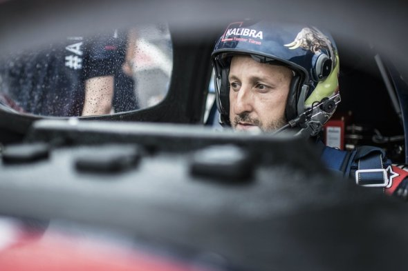 Red Bull Air Race Lausitz 2016 Petr Kopfstein před startem