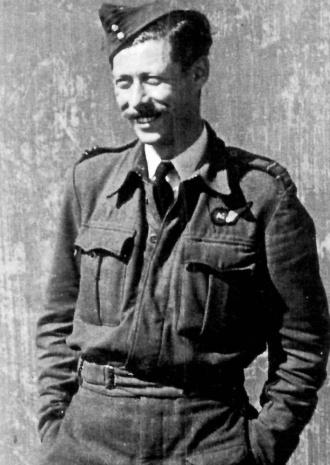 Zdeněk Hanuš Knapp za války v RAF