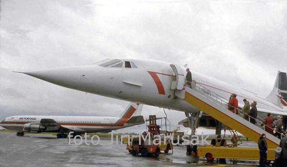 Concorde letiště Praha