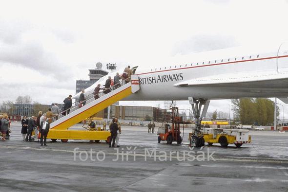 Concorde letiště Praha Ruzyně
