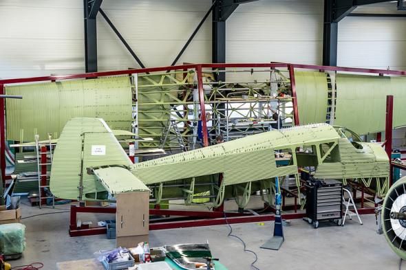 Junkers F 13 Rimowa na dílně