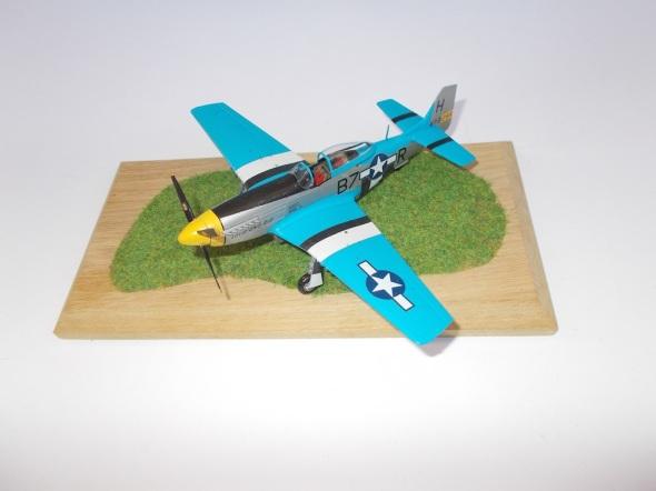 Mustang P 51 D Tamiya 02