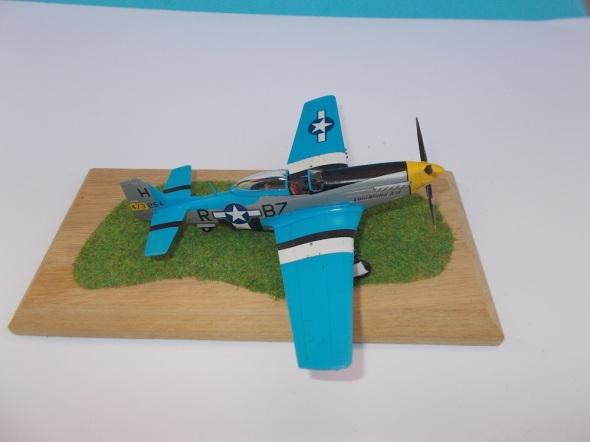 Mustang P 51 D Tamiya 03