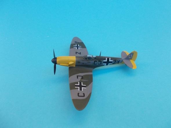 Spitfire Mk.V s motorem Daimler Benz 01