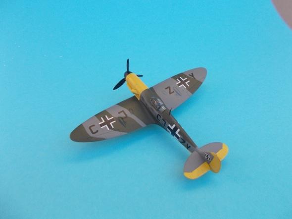 Spitfire Mk.V s motorem Daimler Benz 02