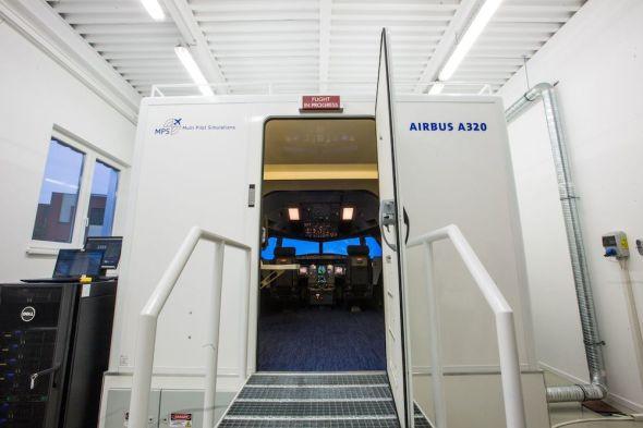 simulátor Airbus A 320