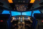 simulator Airbus A 320 kokpit