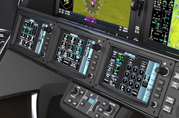 Cirrus Vision Jet SF50 detail kokpitu