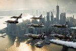 breitling jet team nad New Yorkem