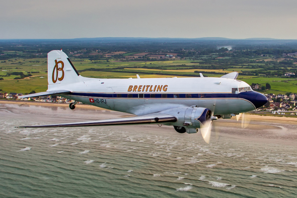 Douglas DC 3 Breitling let kolem světa