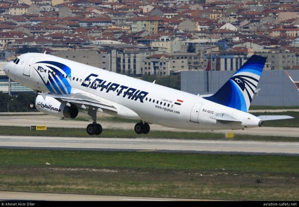 Airbus A320 Egypt Air