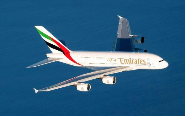 společnost Emirates Airbus_A380