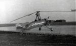 Cierva C.30A  hangáry Aero Praha Kbely