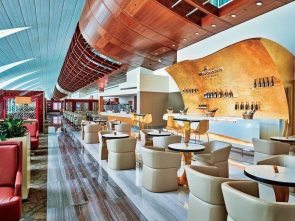 Emirates salonek bar