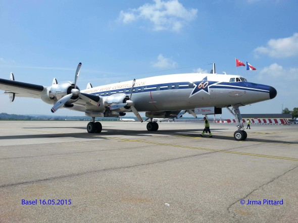 Lockheed Super Constellation Basel airport