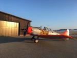 North American Texan letecké muzeum Točná