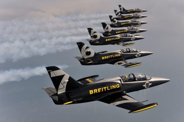 Breitling Jet Team Aviaticka pout 2017 Pardubice