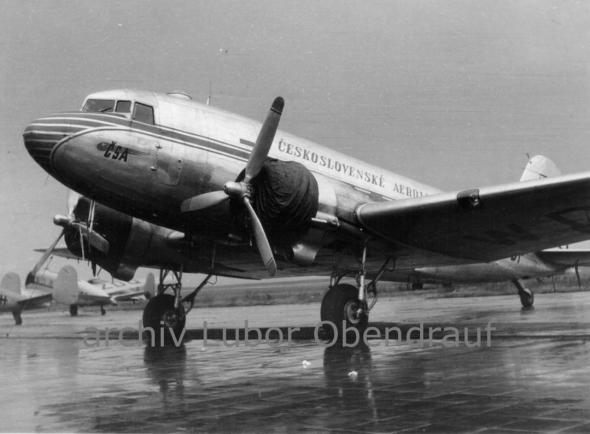 Douglas C 47 Dakota ČSA 1947