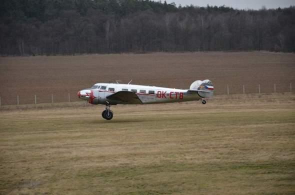Lockheed Electra L 10 A Praha Točná