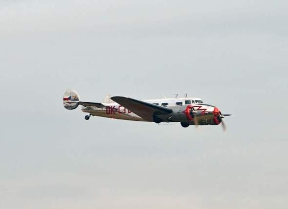 Lockheed Electra L 10 A nad Točnou