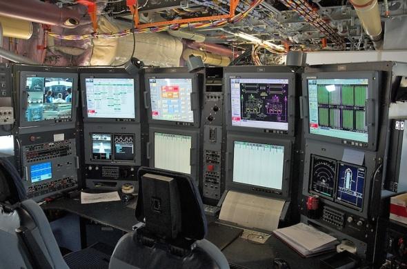 stanoviště techniků A380 foto Andrew Hunt