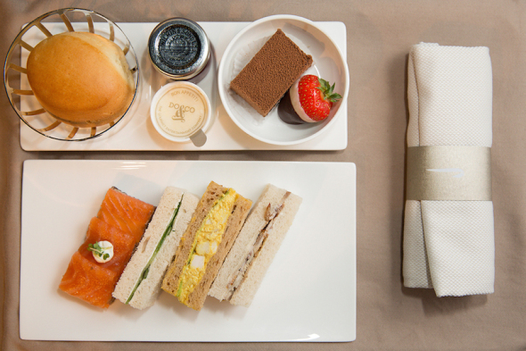 British Airways catering krátké tratě