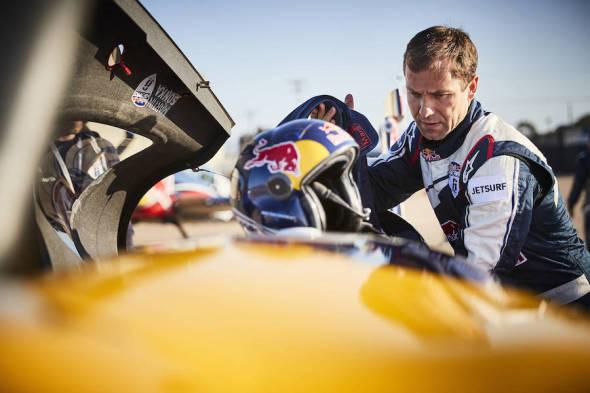 Martin Šonka před kvalifikací San Diego 2017 Red Bull Air Race