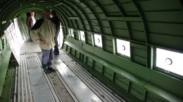 kabina Dakoty v r. 2009 foto M Jindra