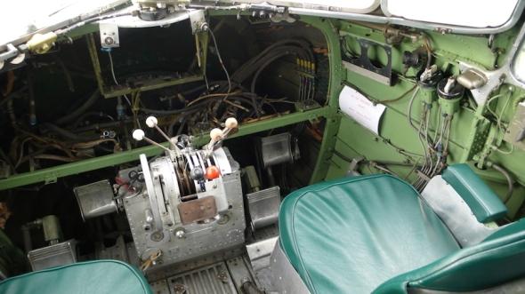 kokpit v r.2009 foto M Jindra